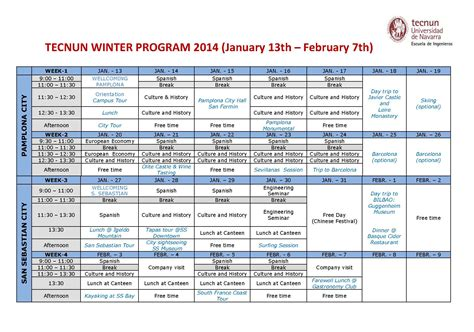 Credit Transfer Form Unsw Tecnun Winter Program 2014 Language And Culture With Seminars On Engineering And Business