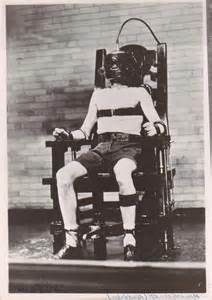 electric chair photos execution