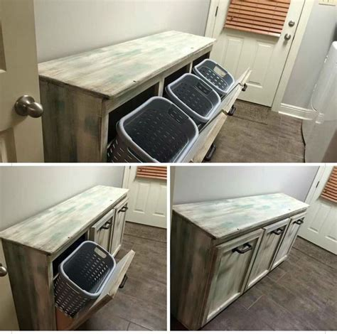 Laundry Folding Table With Storage Best 25 Laundry Basket Holder Ideas On Pinterest