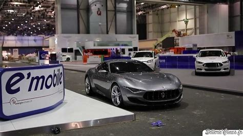 maserati alfieri red maserati alfieri concept driving sound youtube