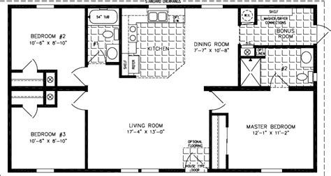 1000 square foot ranch house floor plans numberedtype house plans under 1000 square feet