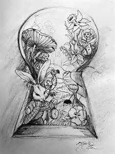 alice in wonderland drawings google search everything