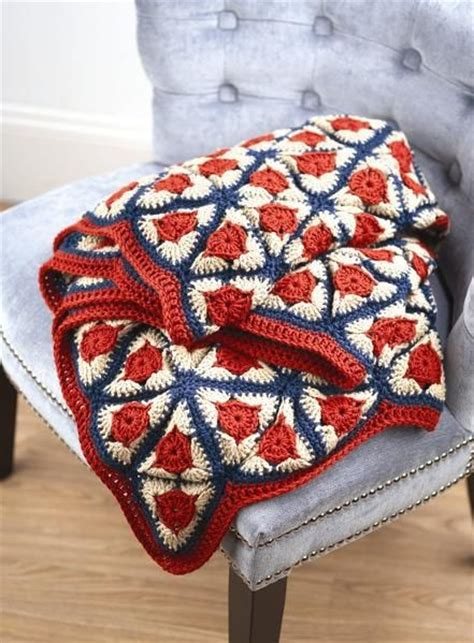 pattern for triangle afghan 101 best crochet americana images on pinterest blankets