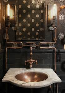 Industrial Style Bathroom Accessories 25 Industrial Bathroom Designs With Vintage Or Minimalist Chic Digsdigs