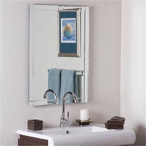 large bathroom mirror set for richly decorated walls contemporary large frameless wall mirror decor wonderland