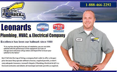 Leonards Plumbing by Chicago Hvac Leonards Chicago Heating Chicago Furnace Repair Chicago Il 60601 888 466 2292