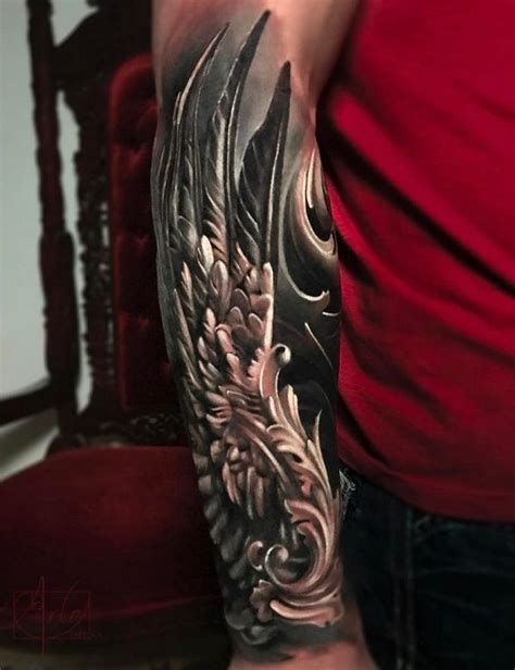 wing arm tattoo 35 breathtaking wings designs designs