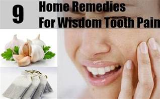 9 home remedies for wisdom tooth treatments