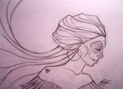 dia drawing dia de los muertos 2 by ravenswritingdesk on deviantart