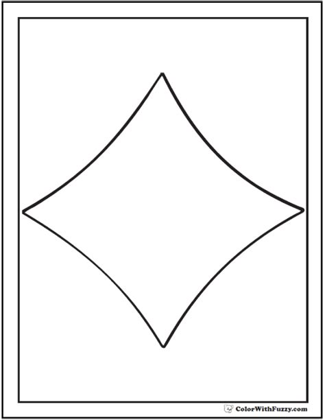 shape coloring pages customize and print