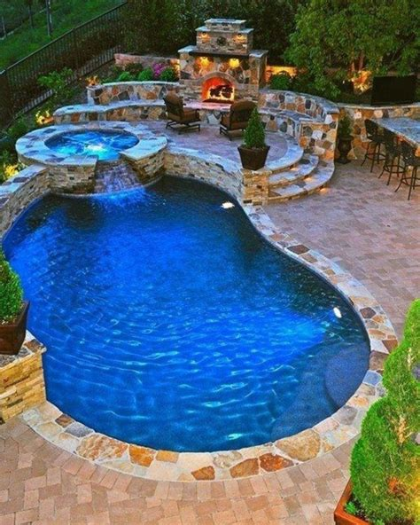 amazing backyard pools 15 amazing backyard swimming pool designs little piece of me