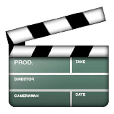 emoji film camera 8 clapper board emoji u 1f3ac u e324