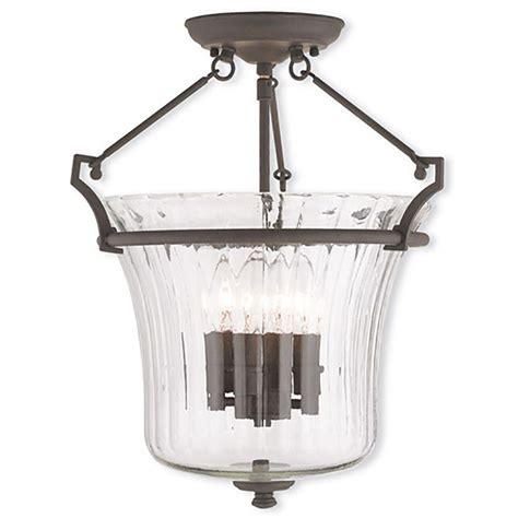bronze flush mount light livex lighting meridian 5 light bronze flushmount 50867 07