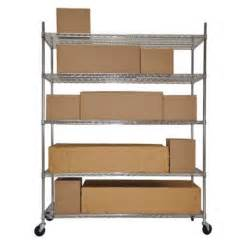 wire shelving costco 5 tier heavy duty nsf chrome wire shelving 24 quot x