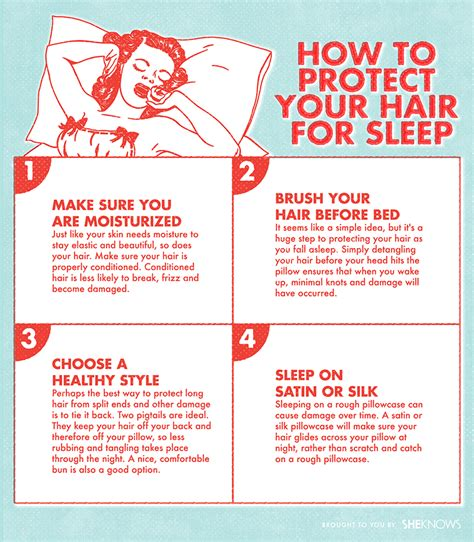 How To Become A Heavy Sleeper by How To Protect Your Hair For Sleep