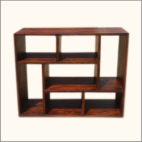 contemporary wooden shelves asymmetrical cube bookcase contemporary wooden display