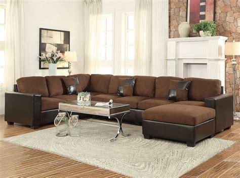 chocolate microfiber sectional chocolate microfiber 3pc sectional sofa set hot sectionals