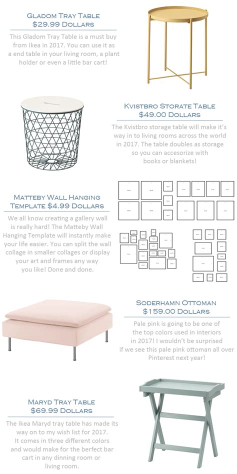 5 Ikea Products That Everyone Will Be Buying In 2017   Lauren Nelson