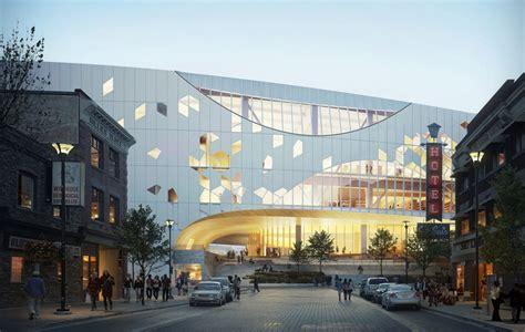 design revealed  calgary  central library  snohetta dialog