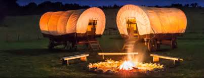 Ranch Houses Conestoga Wagon Camping Family Fun Outdoor Ideas The