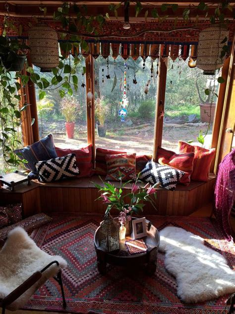 Bohemian Inspired Decorating 15 Inspiring Bohemian Porch With Colored Textiles Home Design And Interior