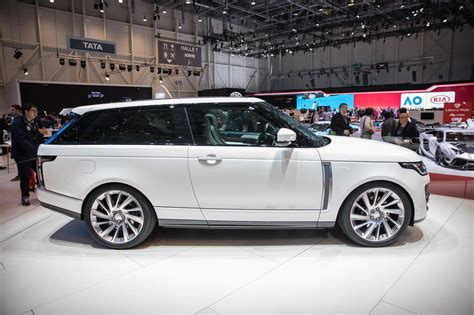 range rover coupe range rover sv coupe is a 295 000 work of with two