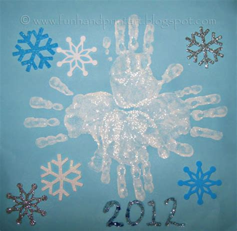 snowflakes crafts for handprint snowflake snowflakes snowflake craft and
