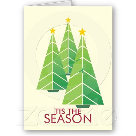 green christmas trees geometric modern holiday zazzlecouk cross stitch ideas corporate