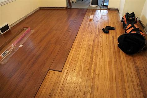 Laminated Hardwood laminate vs hardwood flooring difference and comparison