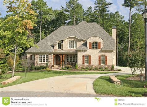 large homes large house stock image image of wooded estate huge