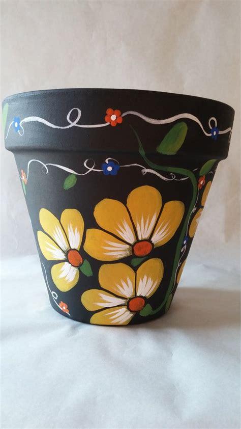 paint projects on pinterest painted flower pots flower pot painting designs www pixshark com images