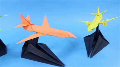 How To Make An Origami Plane That Flies - origami origami airplane how to make paper