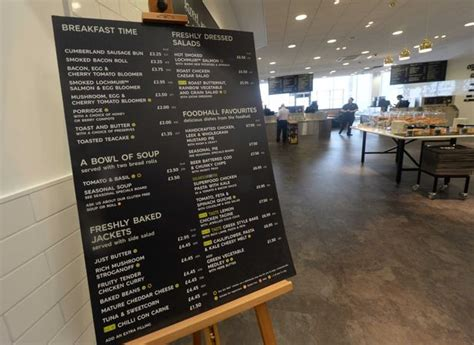 marks and spencer menu see our sneak preview of longbridge marks and spencer with