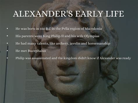 biography of alexander the great alexander the great by sarai ortega