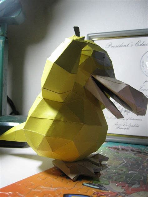 pokemon psyduck papercraft     paper model
