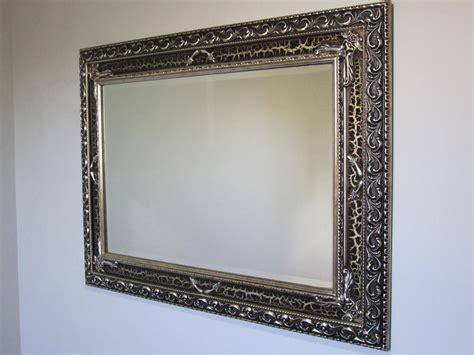 ornate bathroom mirror