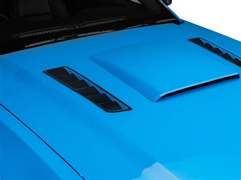 13 mustang black hood vents for vent hood mustang hood vent accent decal matte black 13 14 all