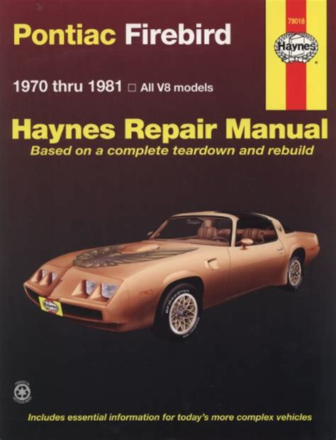 manual repair autos 1967 pontiac firebird free book repair manuals pontiac firebird repair manual ebay autos post