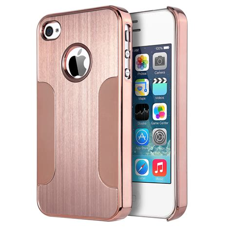 Iphone 4g4s Bumper Plat Mirror Backcase Hardcase Cover 3 ulak aluminum chrome coating bumper back cover for apple iphone models ebay