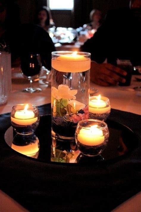 floating candle centerpiece wedding centerpiece vase