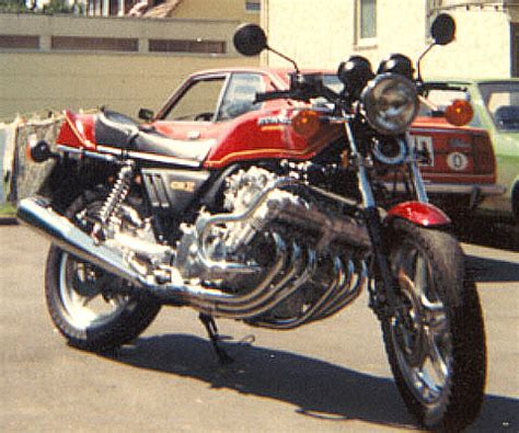 Motorrad Mit 8 Zylinder by Pour Les Puristes Honda Cbx 1000