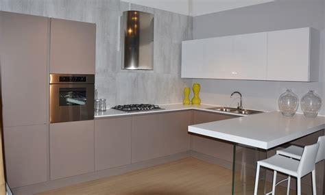 cucina opaca arrital cucine cucina ak 03 moderna laccato opaco tortora