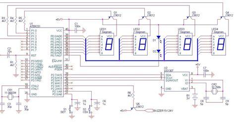 membuat jam digital motor cara membuat jam digital pondok pesantren terpadu daru