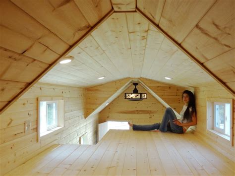 Tiny House Loft Height by Liberty Cabins