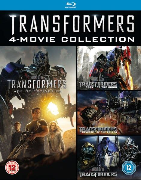Transformer Set transformers 1 4 box set zavvi