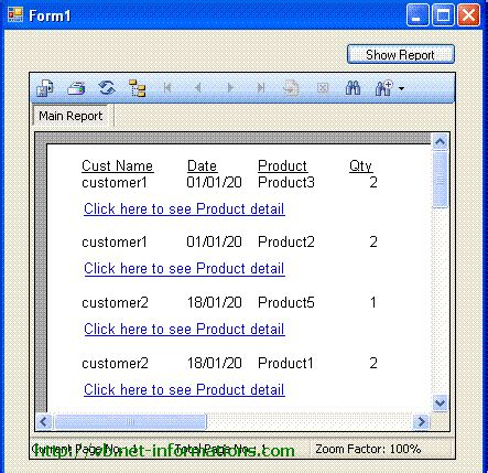 tutorial vb net report create a subreport in crystal reports with link