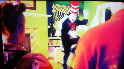the cat in the hat the couch cat in the hat fix the sofa and jumping on it youtube