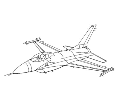 fighter aircraft drawings amd coloring sheets f16