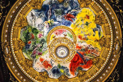 Chagall Ceiling by Parisian Opulence At Its Best Inside The Palais Garnier