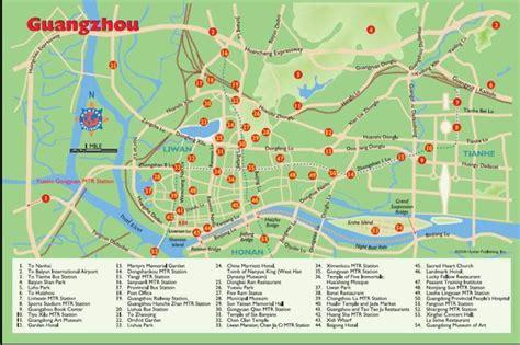 Guangzhou map 2010-2011 | Printable metro (subway ...